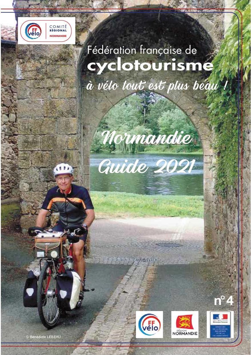Ffvelo normandie guide 2021 page de garde