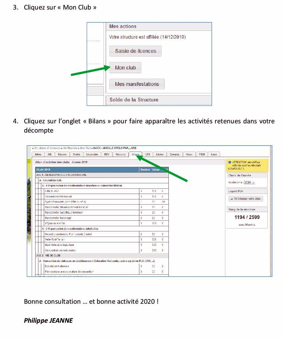 Information bilans2